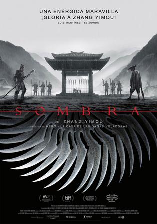 """Cartel de la película """"Sombra"""""""