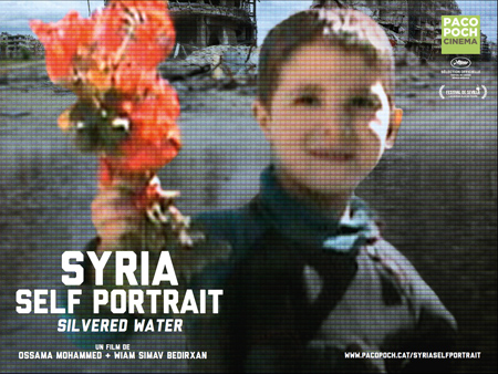 """Syria Self-Portrait - Silvered Water"" pelikularen kartela"