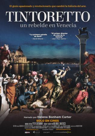 """Cartel de la película """"Tintoretto. Un rebelde en Venecia"""""""