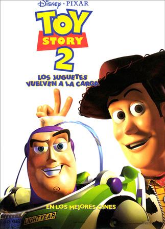 """Toy Story 2"" pelikularen kartela"