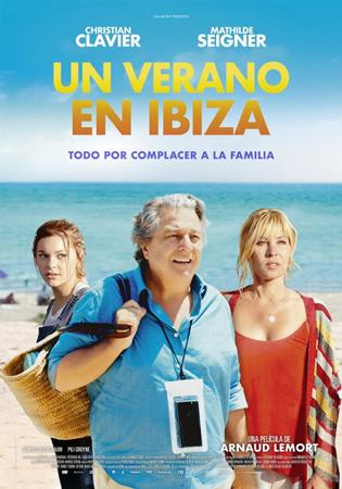"""Cartel de la película """"Un verano en Ibiza"""""""