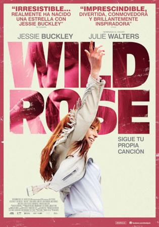 """""""Wild Rose"""" pelikularen kartela"""