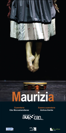 """""""Maurizia"""" ikuskizunaren kartela"""