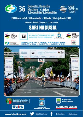 Cartel de la Cl�sica Ciclista San Sebasti�n - San Sebasti�n 2016
