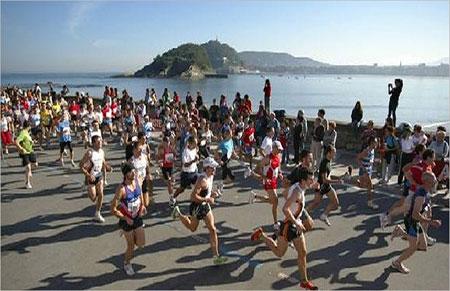 Imagen de la carrera - Cross Amstel Tres Playas de Donostia San Sebastian