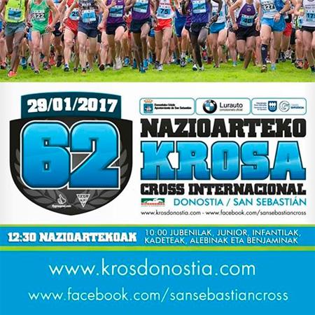 Cartel del Cross Internacional de San Sebastián 2017