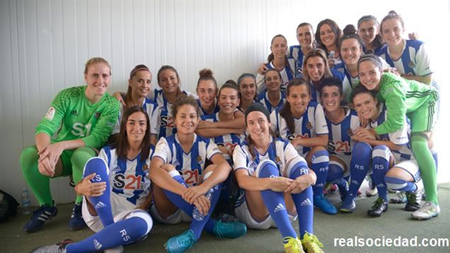 Nesken Real Sociedad taldea 2016-2017