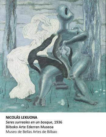 "Obra de la exposición ""Irudi Fantastikoa"""