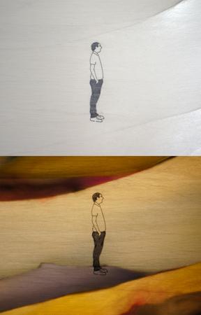 Folleto de la exposición de Zita Ayala