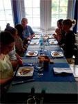 Momento del taller - Restaurante Ciaboga de Pasaia