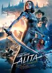 """""""Alita: Angel de combate"""" pelikularen kartela"""