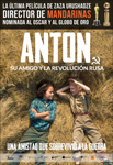 """""""Anton, su amigo y la Revolución Rusa"""" pelikularen kartela"""