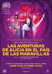 """Cartel de la proyección """"Alice´s Adventures in Wonderland"""""""