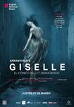 """Cartel de la proyección """"Giselle"""""""