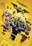 """""""Batman Lego"""" pelikularen kartela"""
