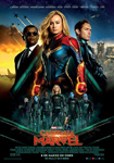 "Cartel de la película ""Capitana Marvel"""