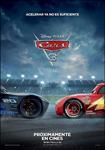"""""""Cars 3"""" pelikularen kartela"""