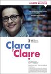 """""""Clara y Claire"""" pelikularen kartela"""