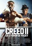 """""""Creed II: La leyenda de Rocky"""" pelikularen kartela"""