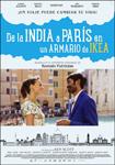 """Cartel de la película """"De la India a París en un armario de Ikea"""""""