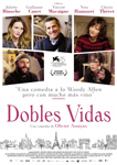 """""""Dobles vidas"""" pelikularen kartela"""