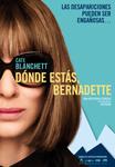 """Cartel de la película """"Dónde estás, Bernadette"""""""
