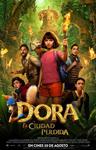 """""""Dora y la ciudad perdida"""" pelikularen kartela"""