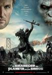 """Cartel de la película """"El amanecer del Planeta de los Simios"""""""