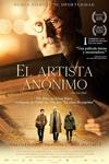 """Cartel de la película """"El artista anónimo"""""""
