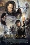 """Cartel de la película """"El señor de los anillos: El retorno del Rey"""""""