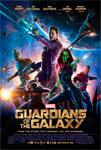 """""""Guardianes de la Galaxia"""" pelikularen kartela"""