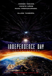 """""""Independence Day: Contraataque"""" pelikularen kartela"""