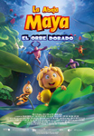 """La Abeja Maya y el Orbe Dorado"" pelikularen kartela"