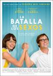 """Cartel de la película """"La batalla de los sexos"""""""