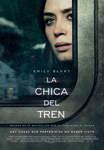 """""""La chica del tren"""" pelikularen kartela"""
