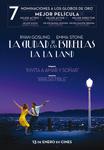 """""""La Ciudad de las Estrellas - La La Land"""" pelikularen kartela"""