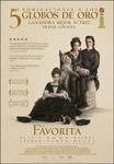 """Cartel de la película """"La favorita"""""""