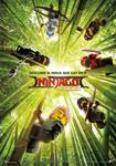 """Cartel de la película """"La LEGO Ninjago película"""""""