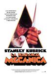 """Cartel de la película """"La naranja mecánica"""""""