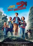 """Cartel de la película """"Los Cinco y el valle de los dinosaurios"""""""