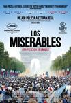 """Los Miserables"" pelikularen kartela"