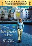 """""""Medianoche en París"""" pelikularen kartela"""