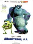 """Cartel de la película """"Monstruos S.A."""""""