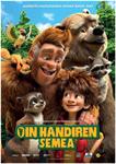 """Cartel de la película """"Oin Handiaren Semea"""""""