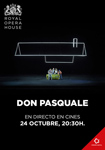 """Cartel de la proyección """"Don Pasquale"""""""