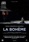 """Cartel de la proyección """"La Bohème"""""""