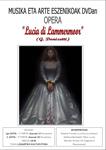 """Lucía de Lammermmor"" proiekzioaren kartela"