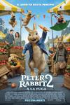 """Peter Rabbit 2: A la fuga"" pelikularen kartela"