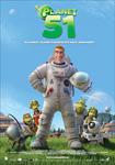 """Cartel de la película """"Planet 51"""""""