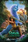 """Cartel de la película """"Raya y el último dragón"""""""
